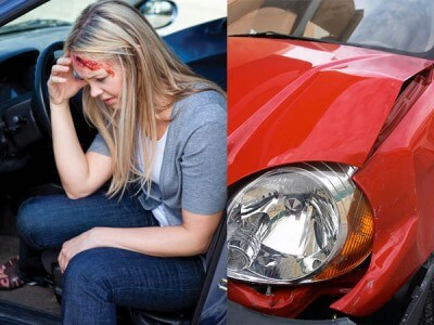 injured in a car